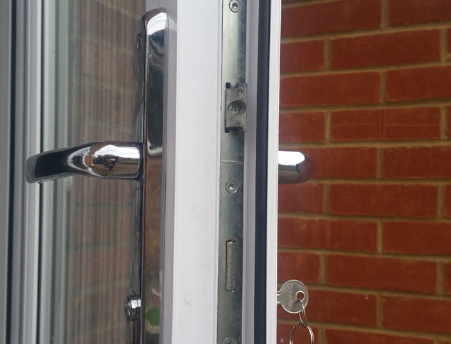 Upvc locksmiths colchester crystal clear for Upvc french door locks